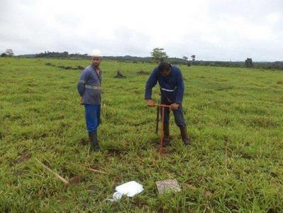 Serviço de mapeamento de solo